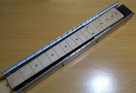 1-Piece Neck Fret Slotting Jig | GMC Luthier Tools