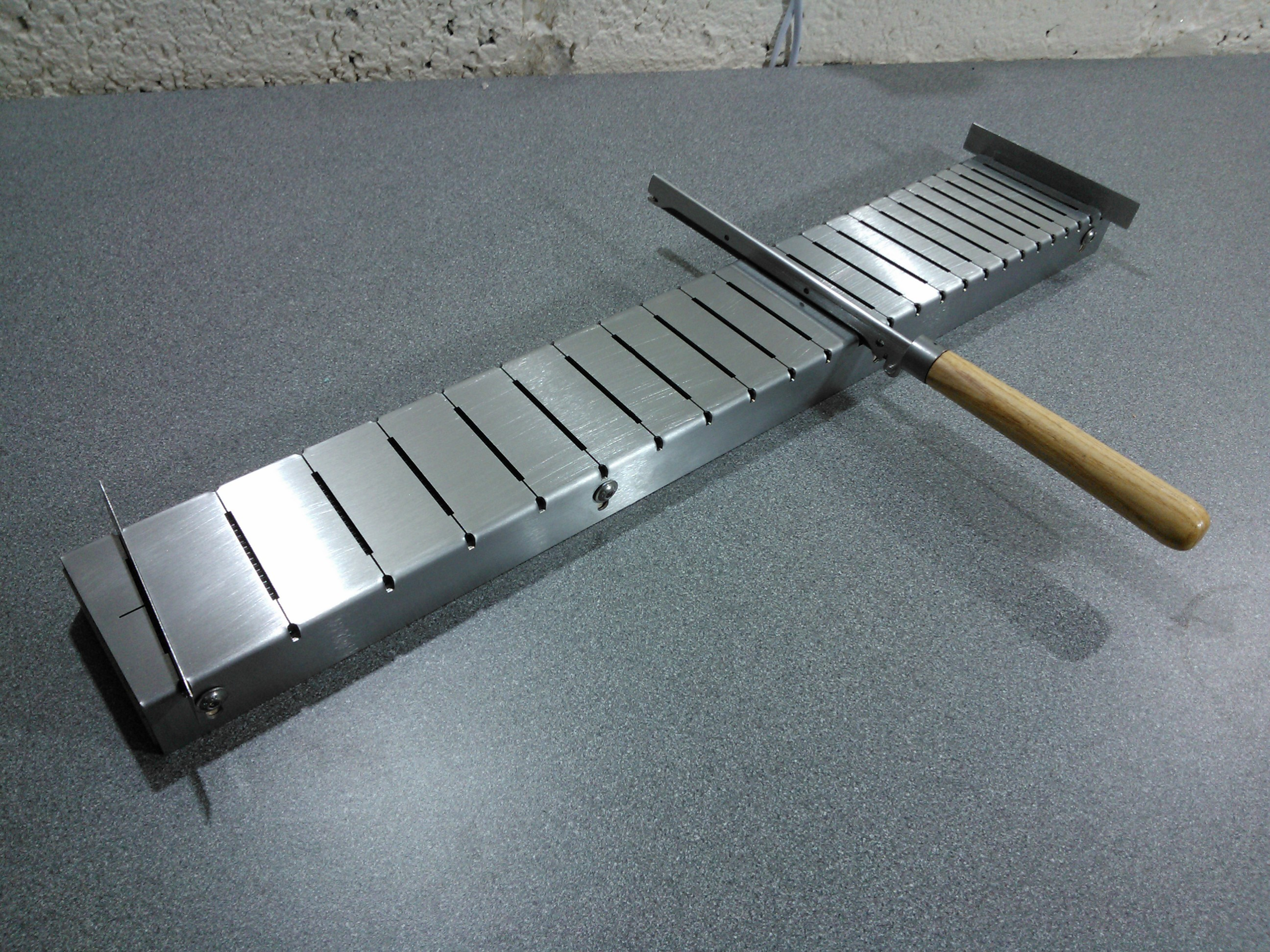 Multi-scale Fret Slotting Jig