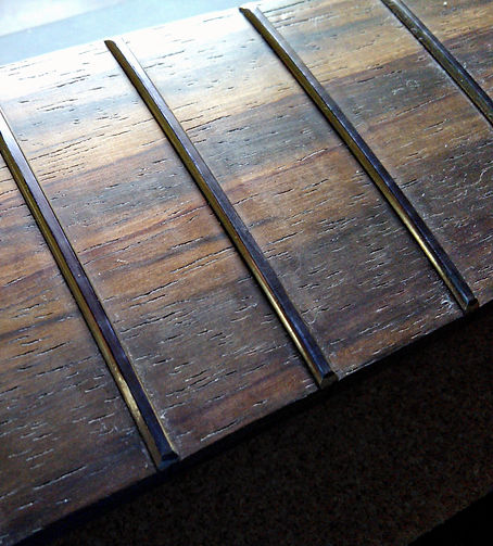 Frets before crowning | GMC Luthier Tools