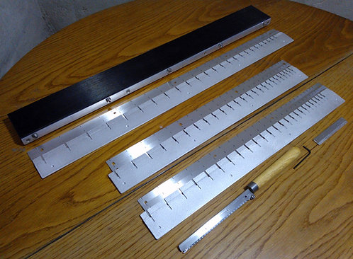 FRET SLOTTING JIG PACKAGE - Your choice of scales - Includes Templates & Fretsaw
