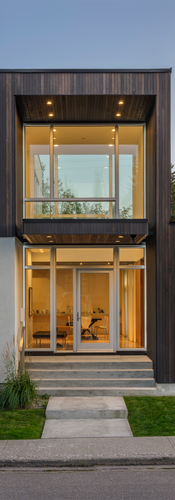 Modern Four Square House