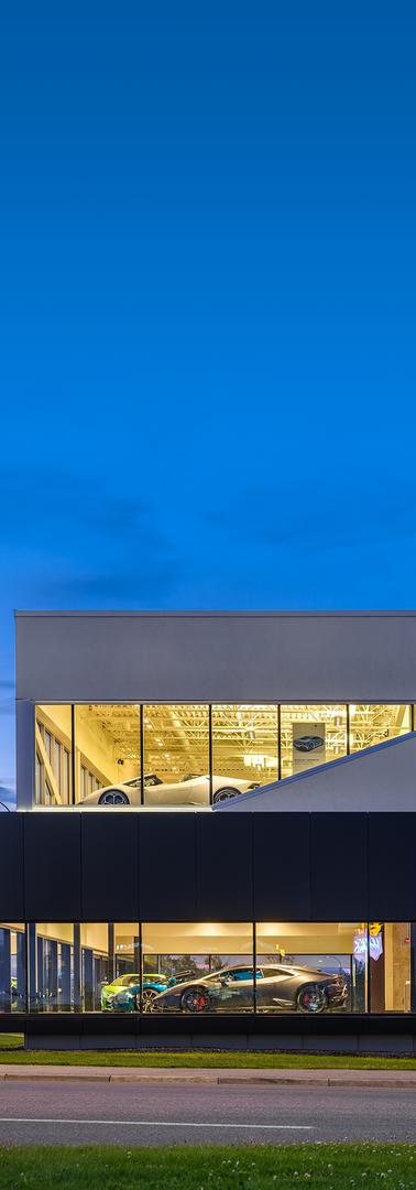Lamborghini Calgary Renovation