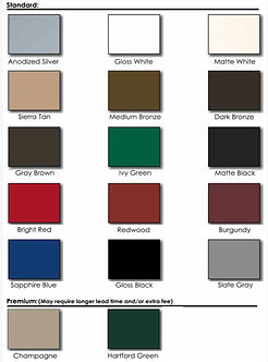 Socal-Panel-Powder-Coat-Standard-Color-C