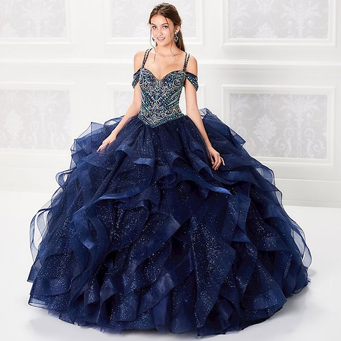 Ariana Vara #PR21966 - Navy Blue- size 8