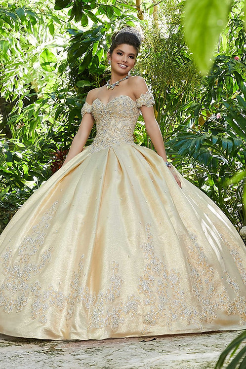 Morilee Gold- size 8 - #89242