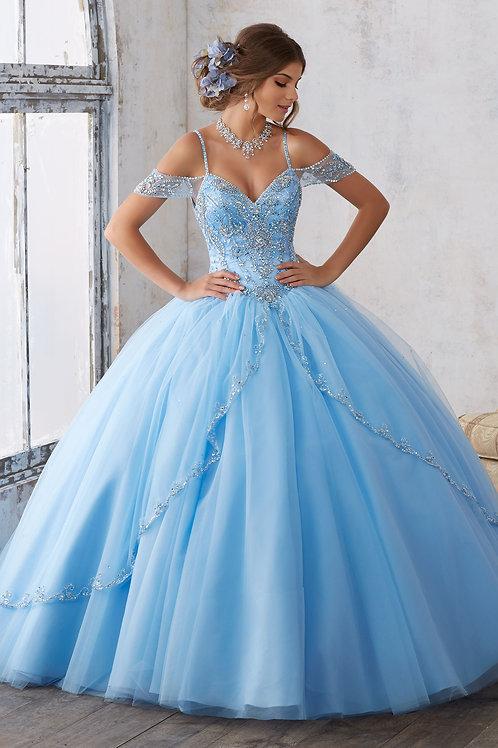 Morilee Bahama Blue size 4 #89135