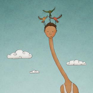 birds fly my high