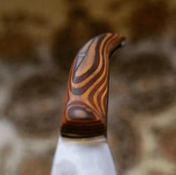 Taschenmesser mit Holzgriff