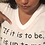 """Thumbnail: """"If it is to be"""" Personalized Fitted V-neck Women's Tshirt"""