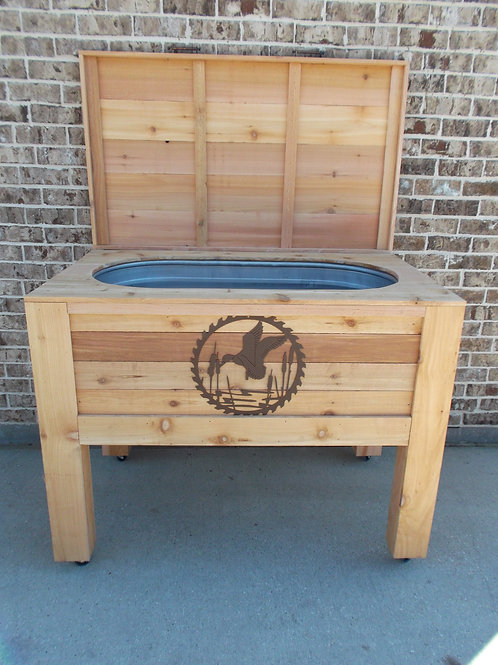 Cedar Party Cooler