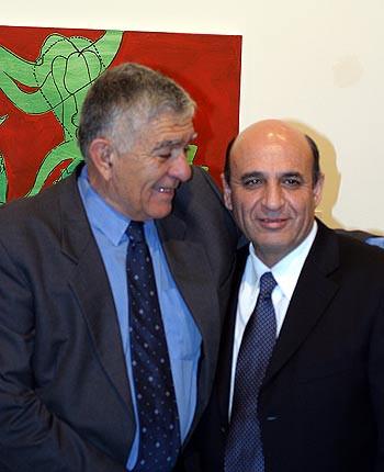 Mayor of Ramat Gan & Ministry of Defense Shaul Mofaz 24.9.03