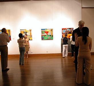 CORNEILLE'S EXHIBITION, LIH HAI SU ART MUSEUM Shanghai, CHINA 01.07.04 - 25.07.04