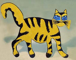 Tigre Jaune avec une Chanson