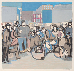 S085 The Cyclists