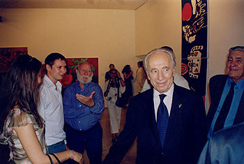Meeting with Shimon Peres 24.9.03