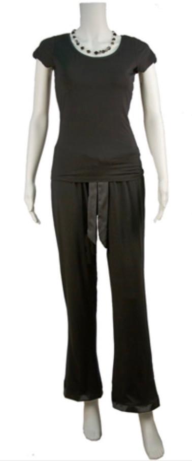 Black Bamboo Pajamas