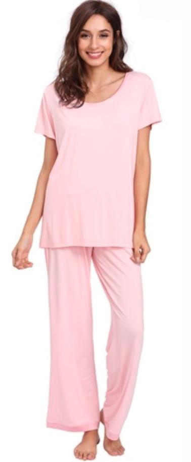Pink Bamboo Pajamas