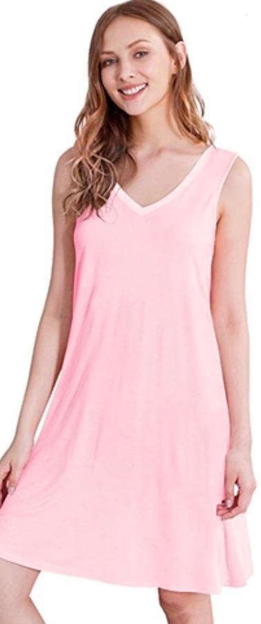 Pink Bamboo Nightdress
