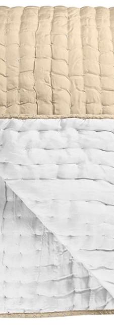 Chenevard Natural & Chalk Quilts & Pillowcases