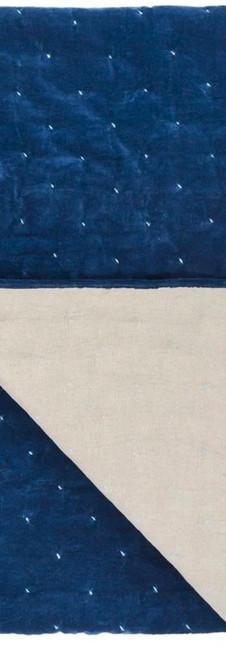 Sevanti Indigo & Pale Blue Quilted Throws