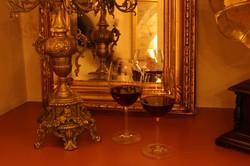 Dom Cafe Rotweingläser