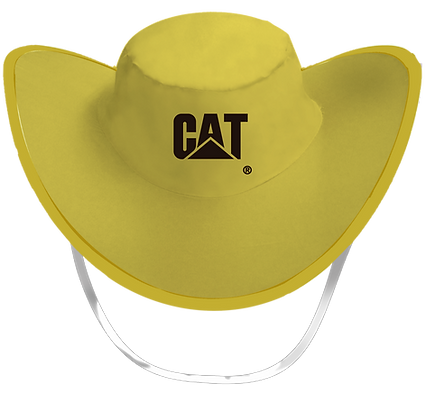 Sombrero Plegable Amarillo