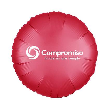 Globo de Aluminio Redondo