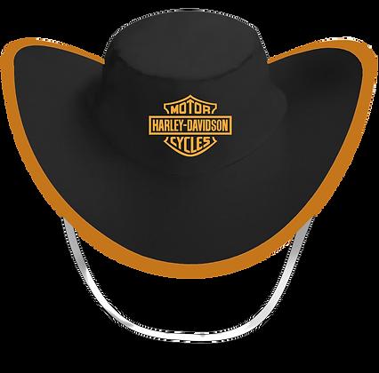 Sombrero Plegable Negro