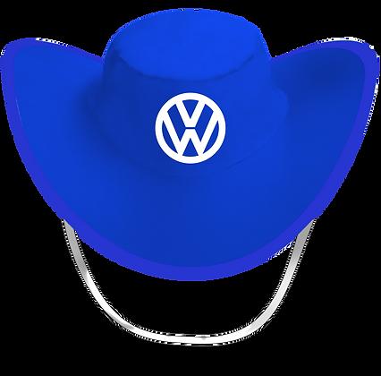 Sombrero Plegable Azul