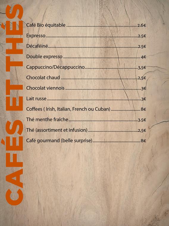 Cafés & thés