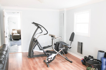 Our workout area!