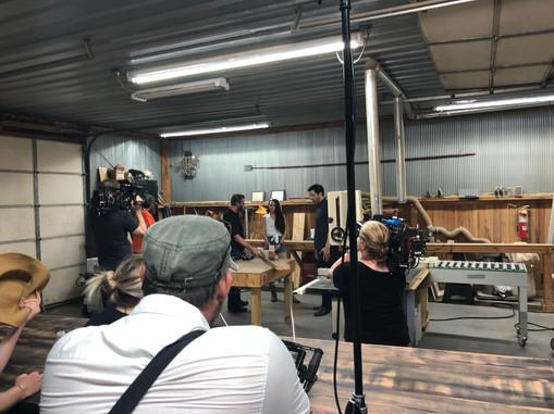 Shooting at Rustic River Creations!