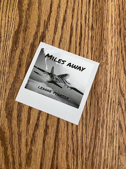 Miles Away Album Cover (with liner notes)
