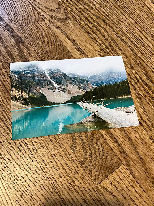 Moraine Lake 4x6 Photo