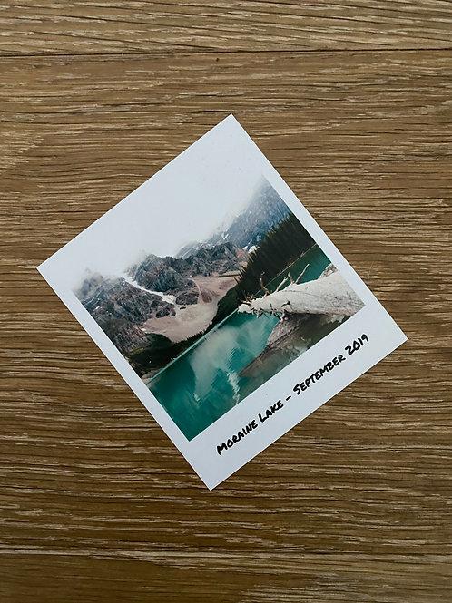 2 Moraine Lake Photos