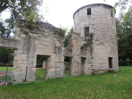 """Notre randonnée dans """"Le vieux Saint-Maur et l'abbaye"""" du 5 Octobre 2019"""