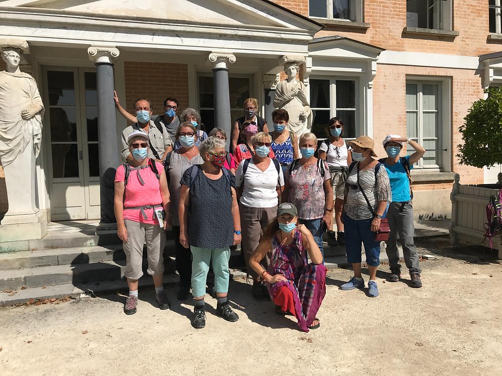 Notre groupe lors de la randonnée de la vallée aux loups