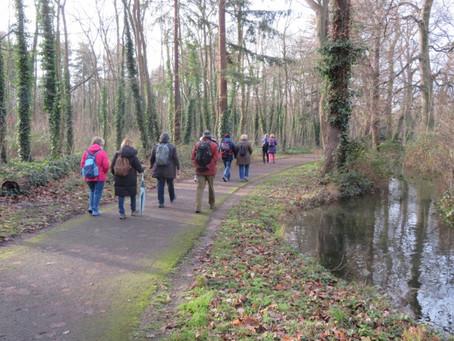 """Notre randonnée """"Promenons-nous dans les bois"""" du samedi 11 janvier 2020"""