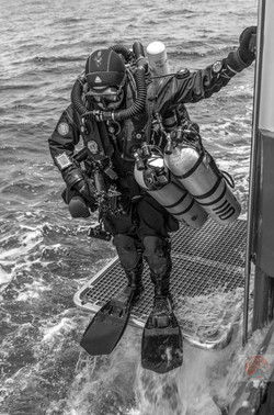 Ready to Dive on Britannic