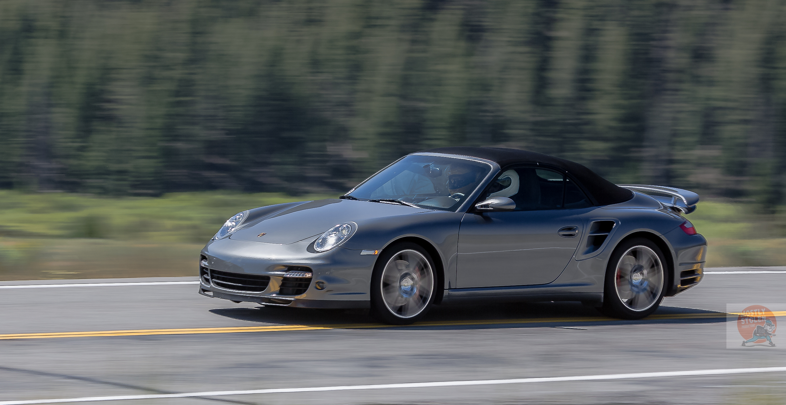 911 Turbo S Cabrio at 200 mph-1273-David Concannon