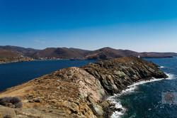 The island of Kea, Greece