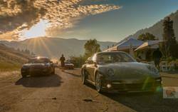 Porsches at first light WM-0273-David Concannon