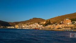 Kea harbor at dawn