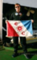 David Concannon & The Explorers Club Flag