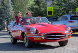 Gary's Jag with kids-0141-David Concannon