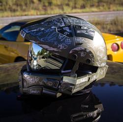 Kim Frank's F___ing Badass Helmet Shot!-6806
