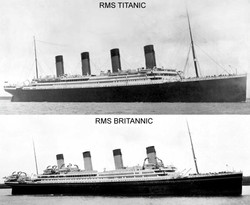 Titanic-Britannic Comparison