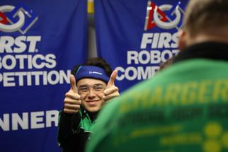 Thumbs-up to senior Brendan