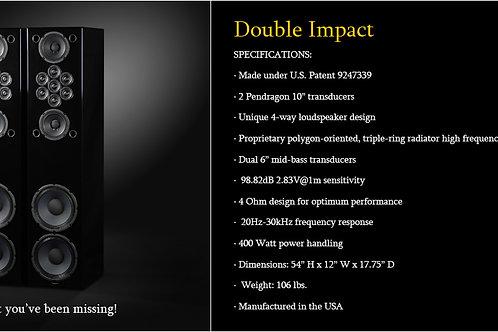 Tekton Double Impact SE Loud Speakers