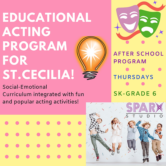 Saint Cecilia Fall Educational Acting After School Program